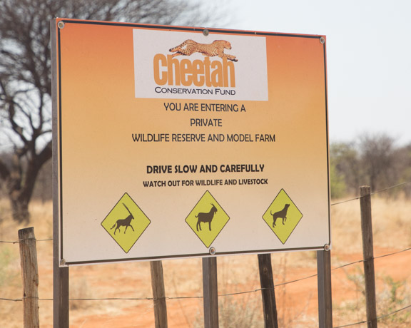 Cheetah-conservation-fund-entrance