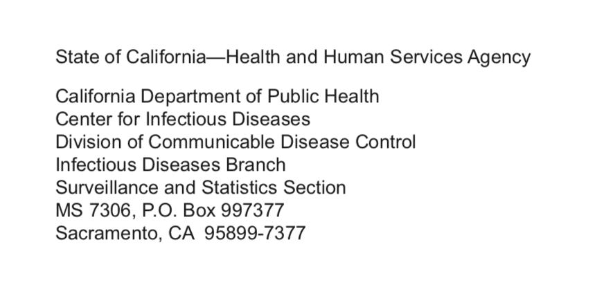 California Psittacosis Case Report